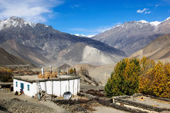 Himalajalandschaft, Nepal Lizenzfreies Stockfoto