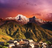 Himalajaphantasie Lizenzfreies Stockfoto