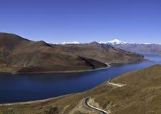 Himalajareichweite Stockfoto