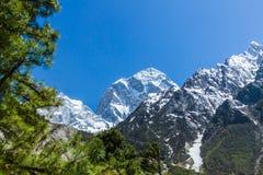Himalajaspitze Stockfotografie