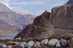 Himalajastraße lizenzfreie stockfotografie