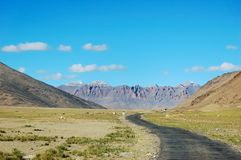 Himalajastraße lizenzfreies stockbild
