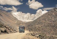 Himalajastraße Lizenzfreies Stockfoto