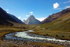 Himalajatal Stockbild