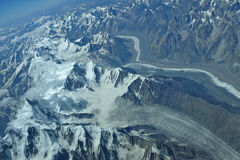 Himalaje lodowiec fotografia royalty free