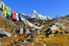 Himalaje Nepal, Piękne Himalajskie góry obraz royalty free