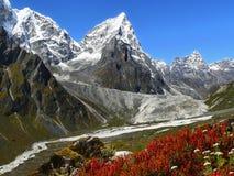 Himalaje Nepal, Piękne Himalajskie góry obraz stock