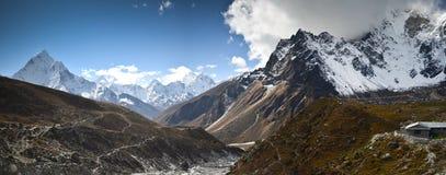 Himalaje panoramiczny krajobraz Obraz Stock