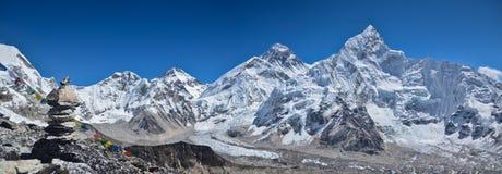 himalaje panoramiczny krajobrazowy Obraz Royalty Free