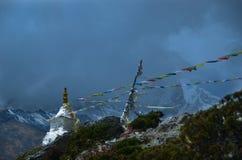 himalaje stupa Obrazy Stock