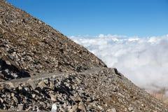 Himalaje wzdłuż Manali-Leh autostrady indu obrazy stock