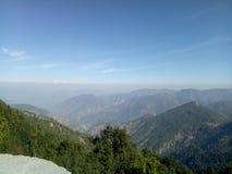 Himalajska dolina fotografia stock