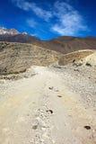 himalajska halna droga Zdjęcie Royalty Free