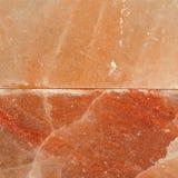Himalajska menchii soli bloku powierzchnia Zdjęcie Stock