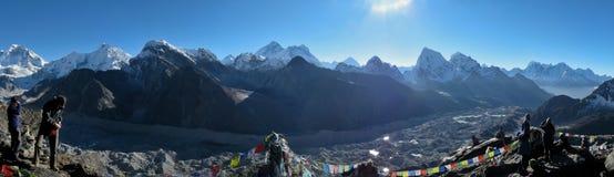Himalajska panorama Fotografia Royalty Free