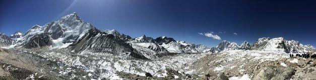 Himalajska panorama Fotografia Stock