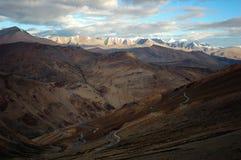 himalajska road Fotografia Royalty Free