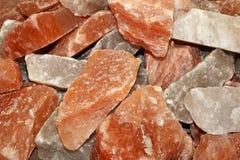 Himalajska sól obraz stock