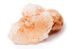 Himalajska sól nad bielem Obrazy Royalty Free
