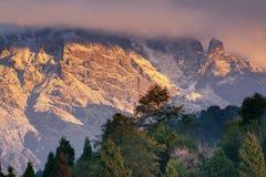 Himalajski pasmo górskie przy Ravangla, Sikkim Zdjęcie Stock