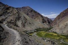 Himalajski Valey Obraz Stock