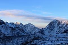 Himalajski wschód słońca Fotografia Royalty Free