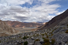 himalajskie jeziorne góry Fotografia Royalty Free
