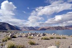 himalajskie jeziorne góry Obraz Royalty Free