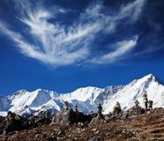 Himalaya. Mountains in Sagarmatha region,Himalaya stock photos