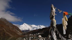 Himalayas, Nepal China Tibet Royalty Free Stock Photo