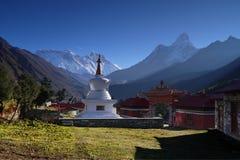 Himalaya Mountains Landscape Nepal stock images