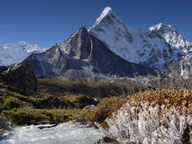 Himalayas Mountains, Everest Region Stock Photography