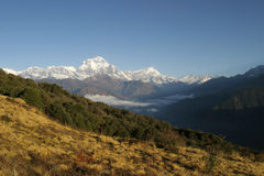 Himalaya. Mountains, Nepal Stock Images