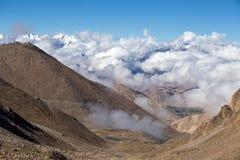 Himalaya along Manali-Leh highway. India Royalty Free Stock Photo