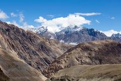 Himalaya along Manali-Leh highway. India Stock Photo