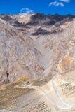 Himalaya along Manali-Leh highway. India Stock Image