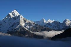 Himalaya - Ama Dablam fotos de archivo