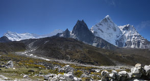 Himalaya - Ama Dablam Stock Photos