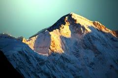 Himalaya. AmaDablan Mountains in Sagarmatha region,Himalaya stock photo