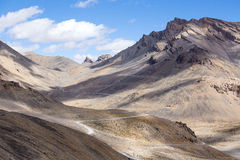 Himalaya ao longo da estrada de Manali-Leh India Imagens de Stock Royalty Free