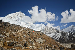 Himalaya backpacking Royalty Free Stock Images