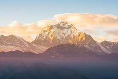 Himalaya. Beautiful Himalaya range from Nepal royalty free stock photo