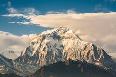 Himalaya. Beautiful Himalaya range from Nepal royalty free stock photos