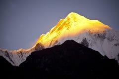 Himalaya berg arkivbilder