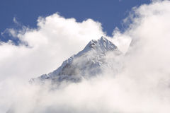 himalaya bergmaximum Fotografering för Bildbyråer