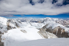 The Himalaya. From Cho Oyu Royalty Free Stock Photography