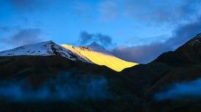 Himalaya dallandskap Fotografering för Bildbyråer