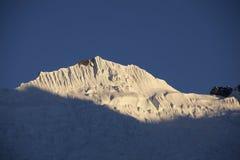 Himalaya de la puesta del sol fotos de archivo