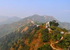 Himalaya en Nepal fotografía de archivo