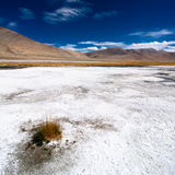 Himalaya high mountain desert landscape Royalty Free Stock Images